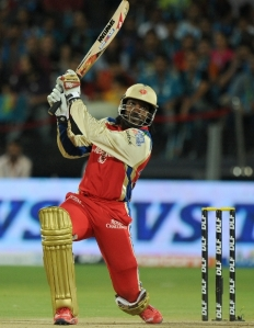 West Indian batsman, Chris Gayle, is adored by full houses in the IPL every week of the tournament (PC: Cricket Dawn)
