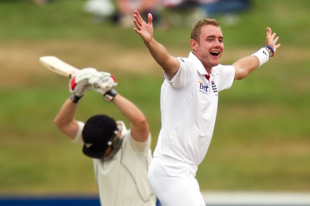 Stuart Broad made a timely return to form taking 6-51 on day 3, after hundreds from Trott and Compton lay the foundations (PC: The Mirror)